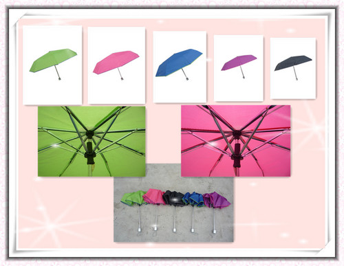 Lady Folding Gift Umbrella in   village sanxiang town