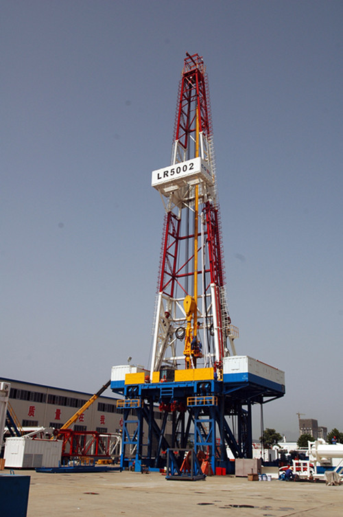 Oil Land Drilling Rig In Shaanxi Xian Exporter And