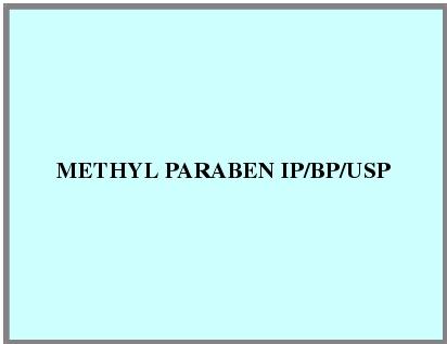 Methyl Paraben IP/BP/USP