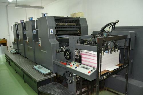 Used four-color offset press used Heidelberg CD102-4 color ...