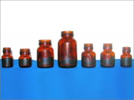 Small Designer Pharma Bottles