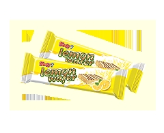 Wafer Yolli With Cream Lemon And Milk Coating Biscuits