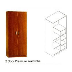 2 Door Premium Wardrobe in  Wardha Road