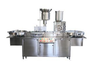 Powder Filling Cum Rubber Stoppering Machine in  Vatva Phase-Ii
