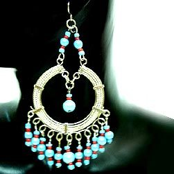 Charm Beaded Earrings