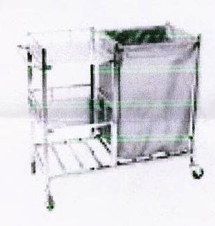 Linen Trolley With 3 Selves