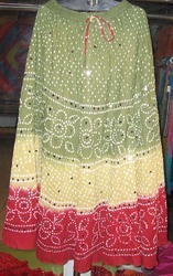 Embroidered Skirts in  Strand Road