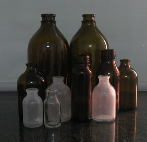 Moulded Injection Glass Vial