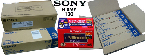 Hi8 And Vhs-C Camcorder Tapes