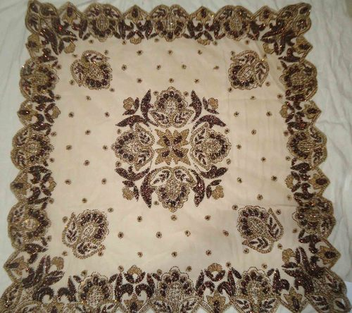 Perfect Handmade Tablecloth. Country: India
