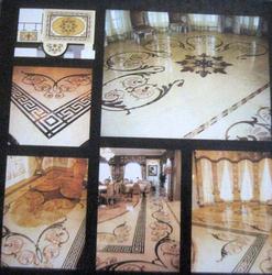 Marble Floor Inlay