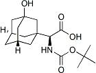 Tricyclo[3.3.1.13,7]Decane-1-Acetic Acid,.Alpha.-[[(1,1-Dimethylethoxy)Carbonyl]Amino]-3-Hydroxy-, (.Alpha.S)