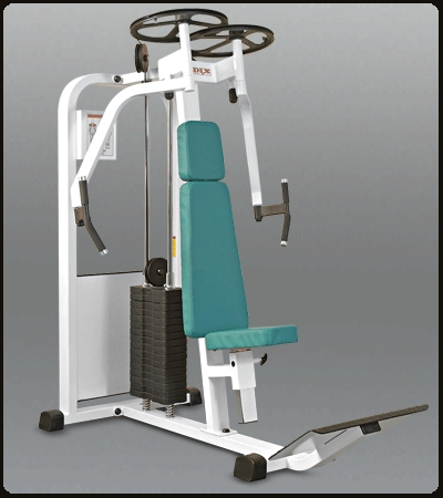 Vertical Butterfly Gym Machine In Modern Indl Area I
