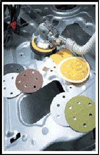Automobile Body Abrasive Metal Working