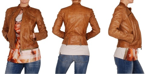 Trendy Ladies Brown Leather Jacket in Munirka, New Delhi ...