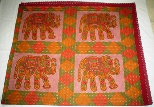 Kantha Gudri Bed Cover