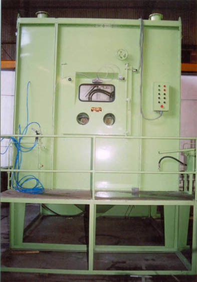 Tyre Mould Cleaning Machine in  Heavy Indl. Area