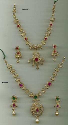 Gold Necklace in Hyderabad Telangana India ASHUTOSH GEMS & JEWELS
