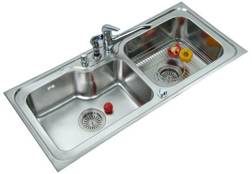 LS340DB Kitchen Sink in New Delhi, Delhi - ANUPAM RETAIL LTD.