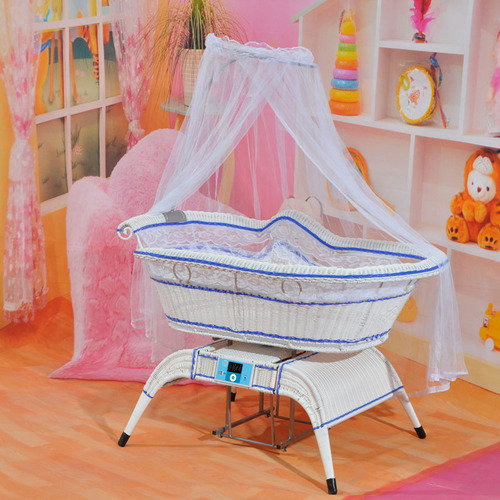 Electric Swing Baby Bed In Foshan Guangdong Longjiang