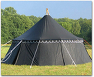 Round Medieval Tent in Azad Market & Round Medieval Tent in Delhi Delhi - CANVAS EMPORIUM