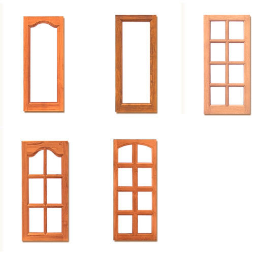Wooden window shutters in badkhal chowk faridabad for Window frame designs house design