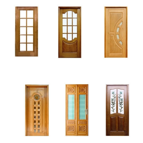 Glass Wood Panel Doors In Badkhal Chowk Faridabad