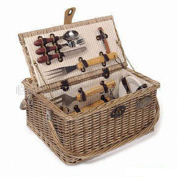 Willow Picnic Storage Baskets