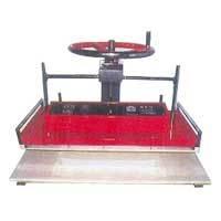Wheel Type Manual Fusing Machine