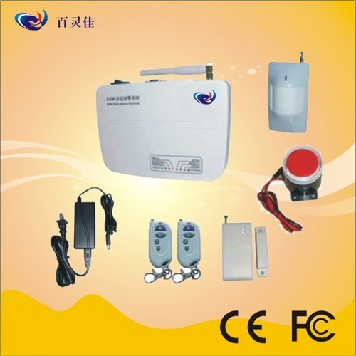 Wireless Intelligent GSM Home Alarm System