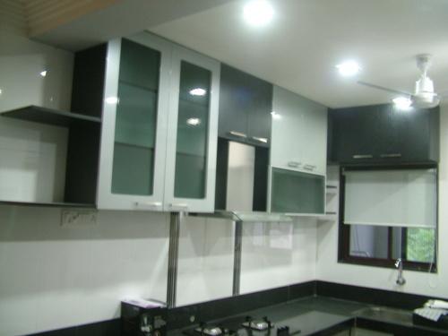 Decorative modular kitchen furniture in bhaktinagar for Kichan farnichar