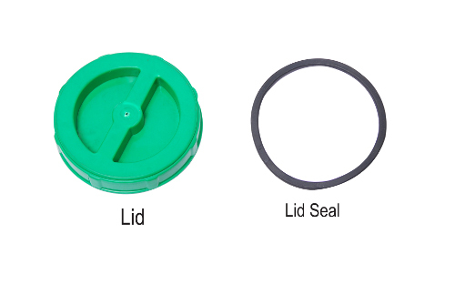 Lid And Lead Seal