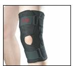 Hinged Knee Brace Airmesh