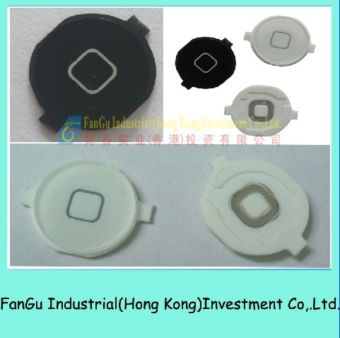 Black/White Home Button For Iphone4 in  Shenzhen.