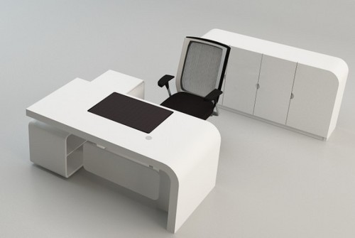 New fashion design office desk in gaoming district foshan for Table design for office