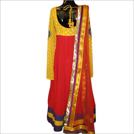 Georgette Anarkali Suit in  Lajpat Nagar - Ii