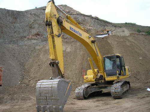 Used Crawler Excavator Komatsu PC300-6