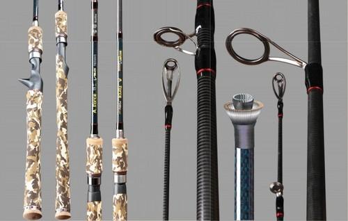 Carbon Fishing Rod Tg562ms-702mhls