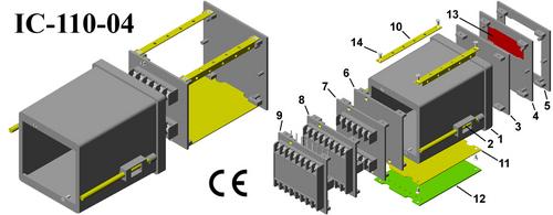 Plastic Panel Enclosure Din (96*96*110)