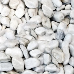 Marble Pebbles in  City Light