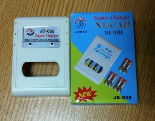 Fast Battery Charger For AA/AAA Batteries