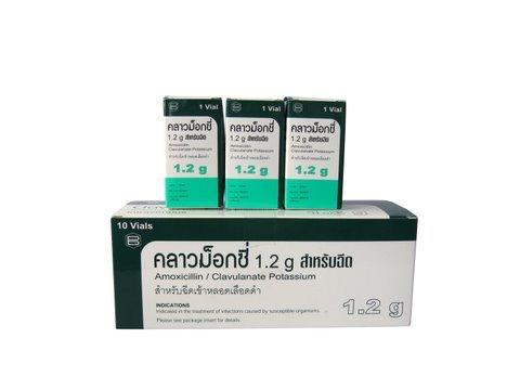 Amoxicillin Sodium and Clavulanate Potassium for Injection