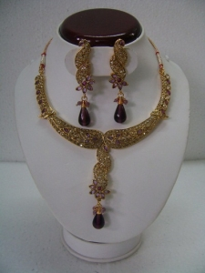 Polki Necklace Sets (PNS-105)