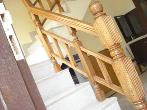 Photo Collection Wood Stair Railing