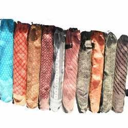 Vintage Zari Silk Sari Yoga Mat Bag