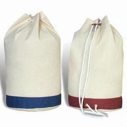 Canvas Drawstring Bag in Near yogi Chock, Surat - Exporter ...