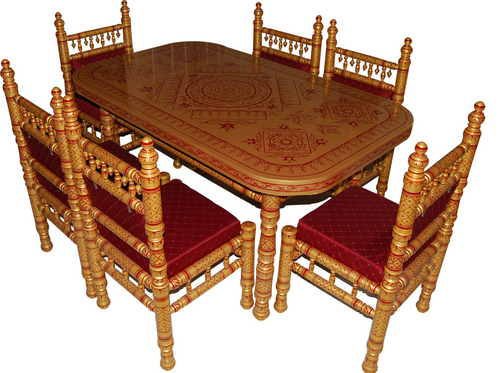 Wooden Dining Tables in Near Bank Of Baroda Sankheda  : 671 from www.tradeindia.com size 500 x 373 jpeg 198kB