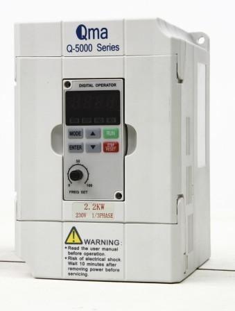 Q5000 Hi-Performance Low-noise Mini Vector Inverter (0.4KW-2.2KW)