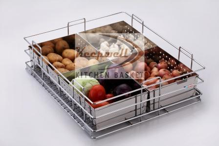Perforated Vegetable Kitchen Basket