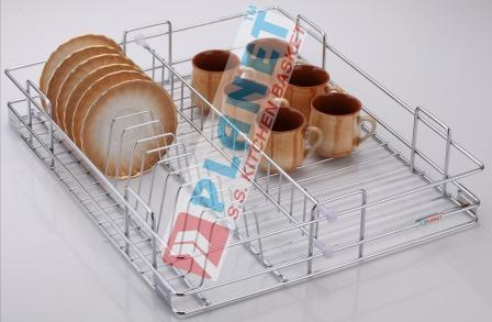 Stainless Steel Cup Saucer Basket in  Dhebar Road
